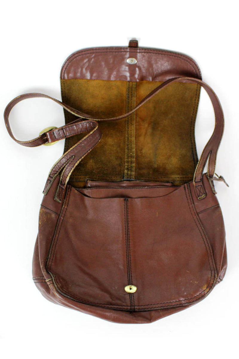 Land leather bag