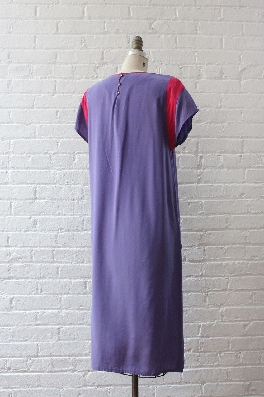 Orchid & Fuchsia Silk Dress S/M