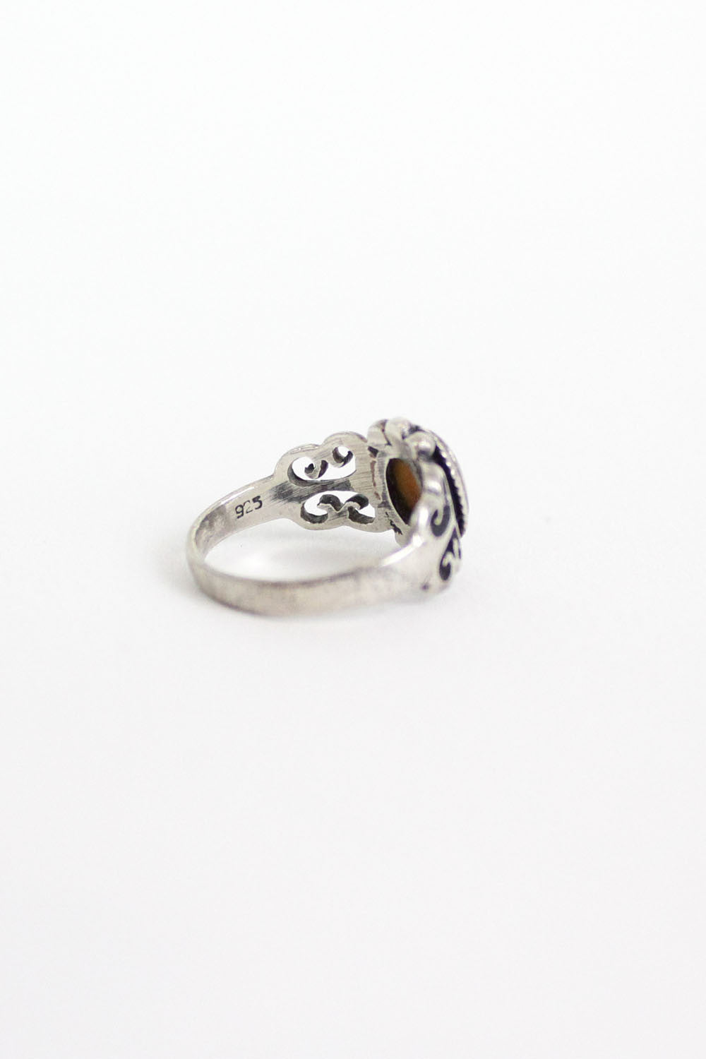 Scrolled Sterling Ring