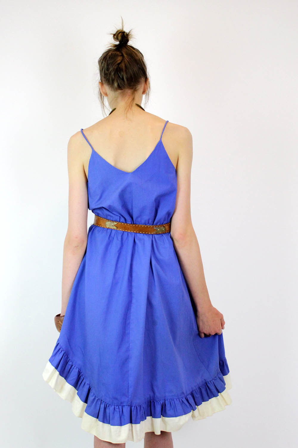 Blueberry Flamenco Dress M