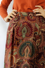 Paisley Please Maxi Skirt XS