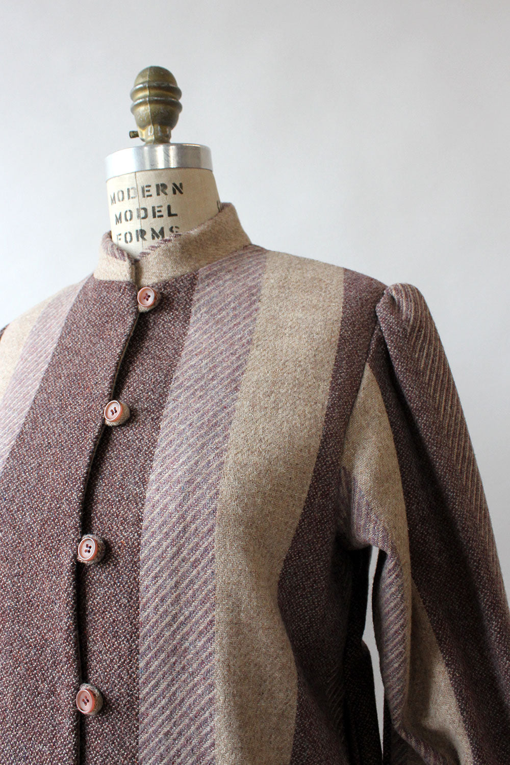 Jack Winter Mauve Stripe Jacket M/L
