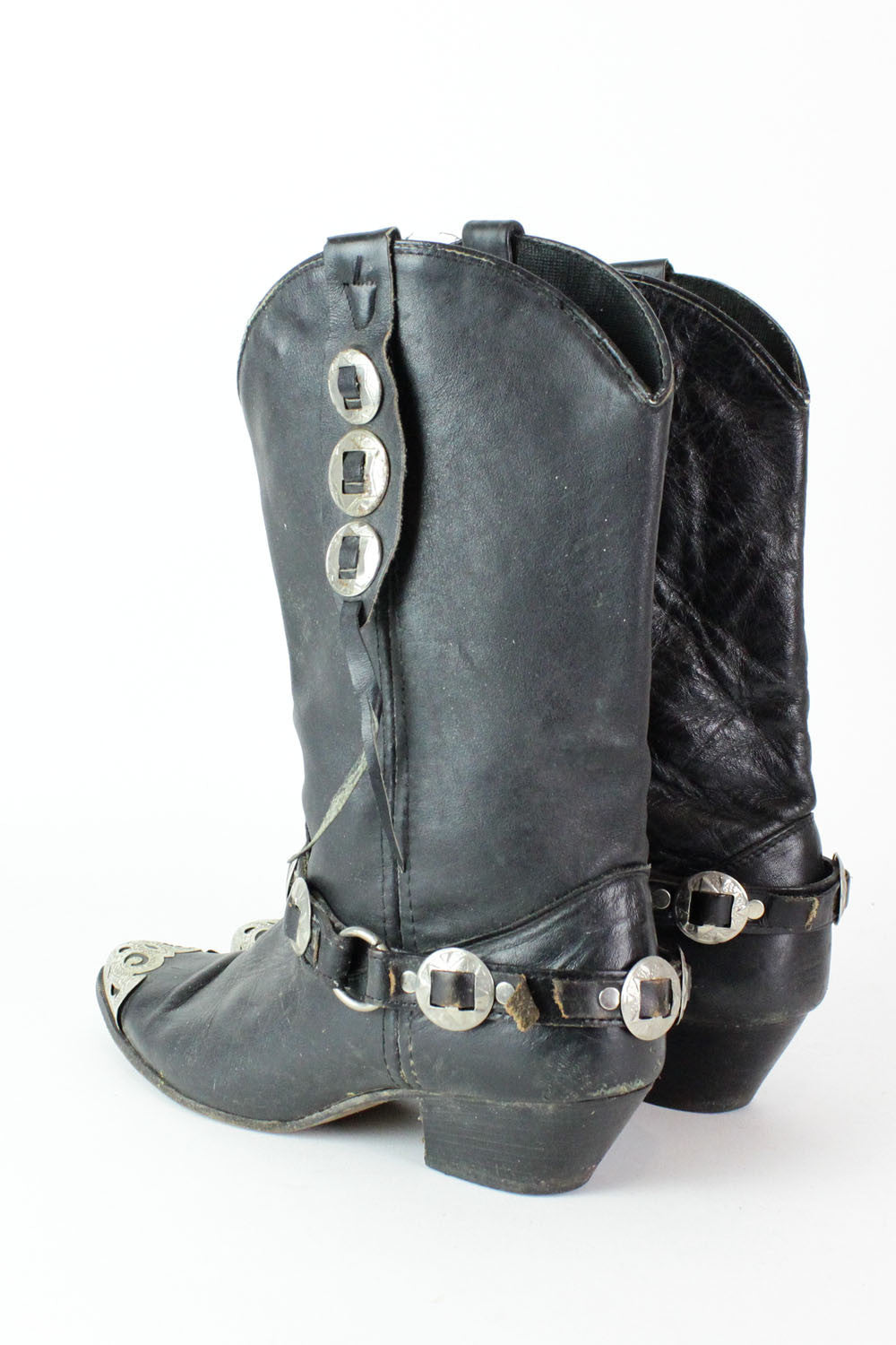 Concho Harness Boots 7