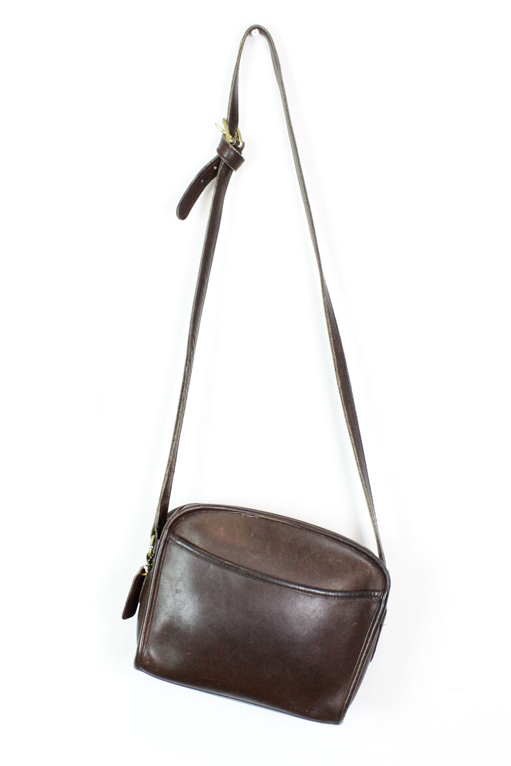 Coach espresso brown crossbody bag