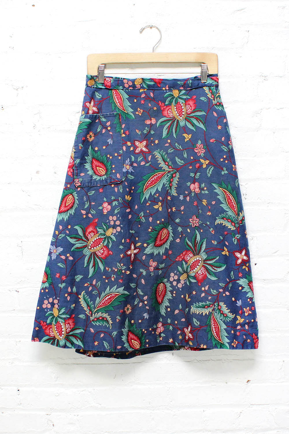 Enchanted Floral Wrap Skirt M/L
