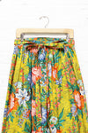 Stephen Burrows Maxi Wrap Skirt