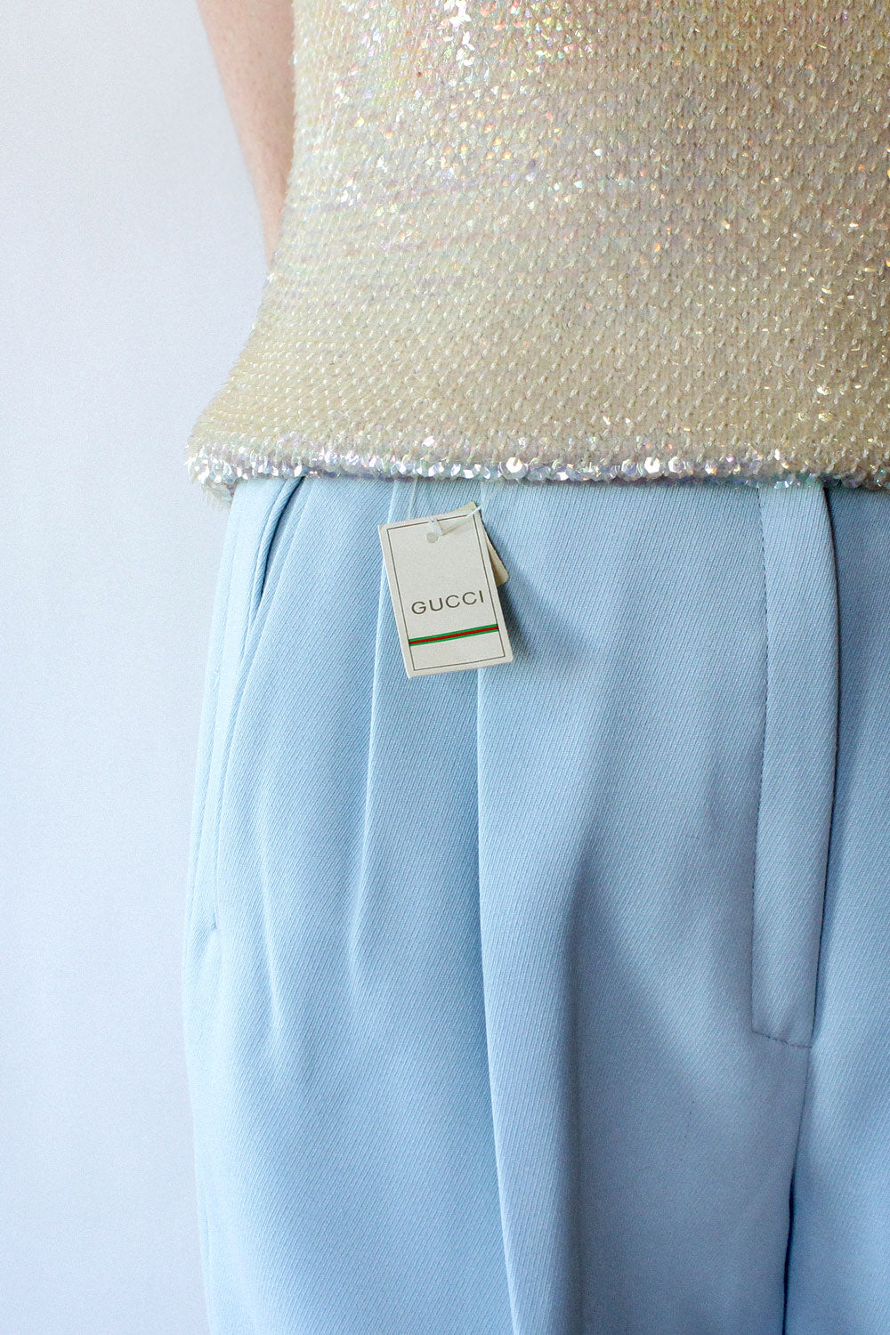 Sky Blue Gucci Trousers S/M
