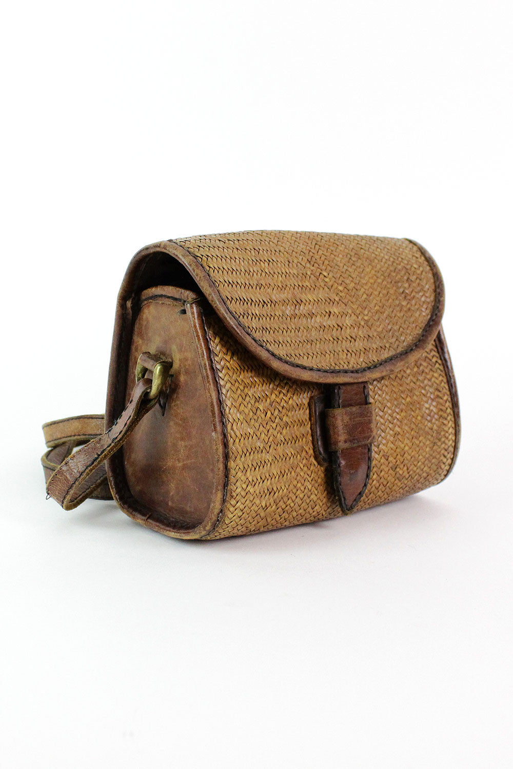 Barrel Straw Bag