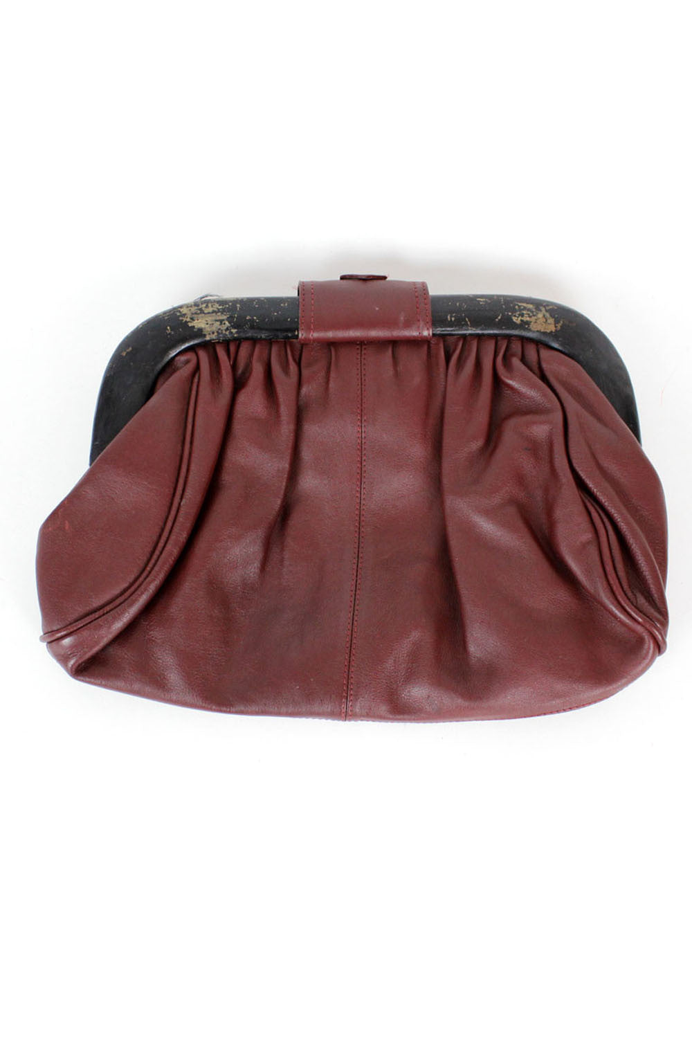 burgundy leather bags