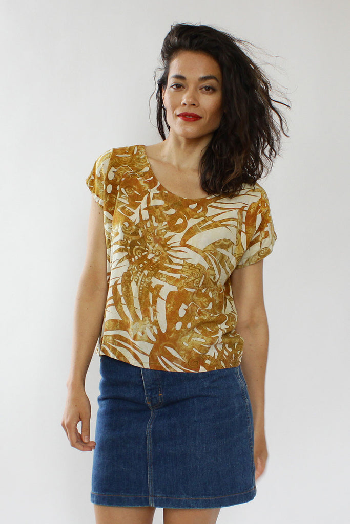 Sun Kissed Batik Top S/M