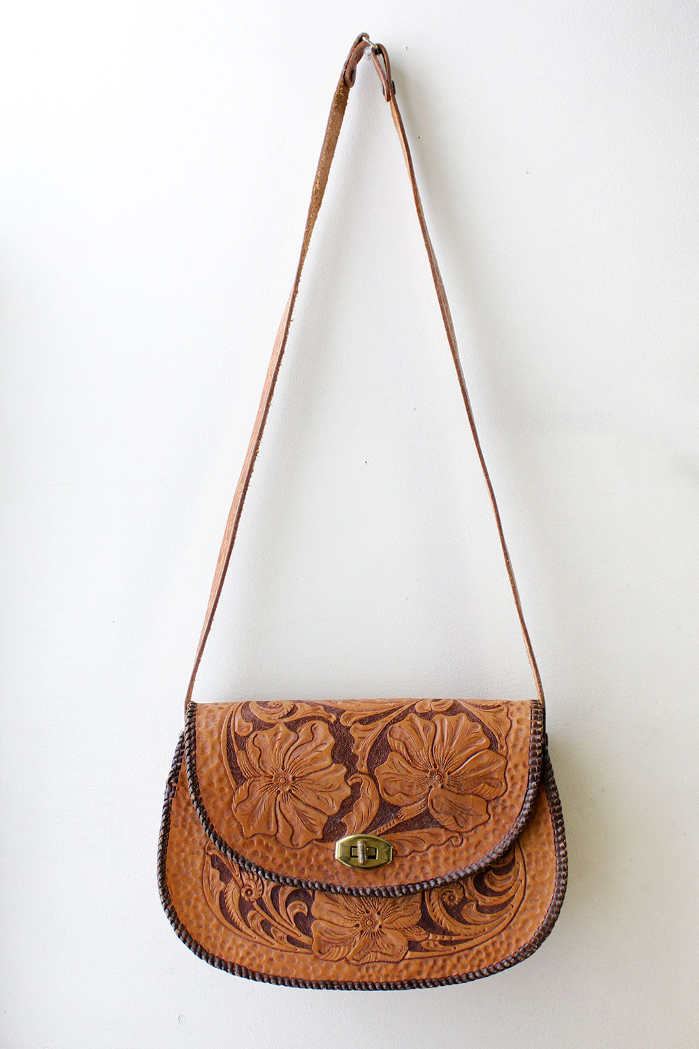 Caroline Tooled Leather Bag