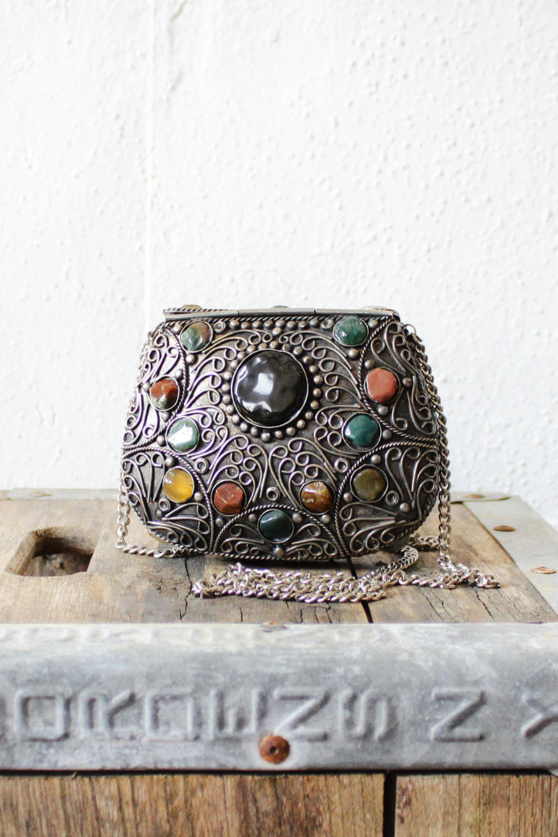 Gemstone Purse