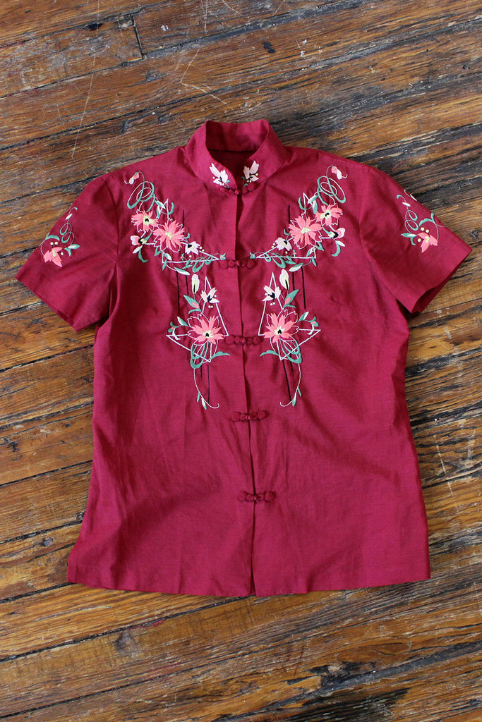 Embroidered Fairyland Blouse S