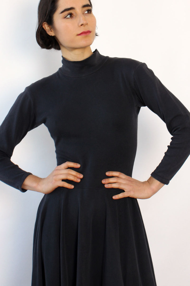 Betsey Johnson Punk Label Turtleneck Dress S/M