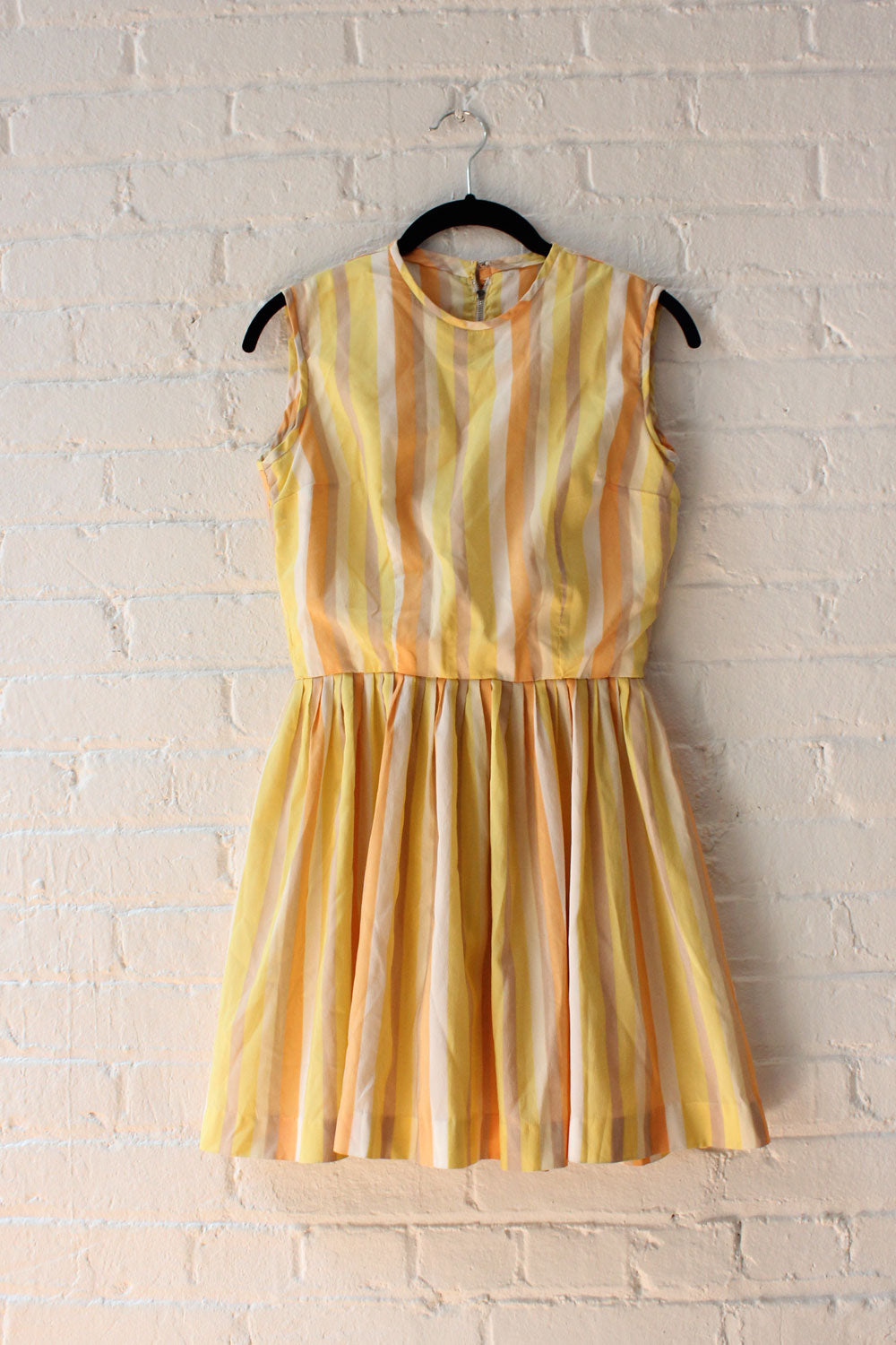 Lemonade Stripe Mini Dress XS