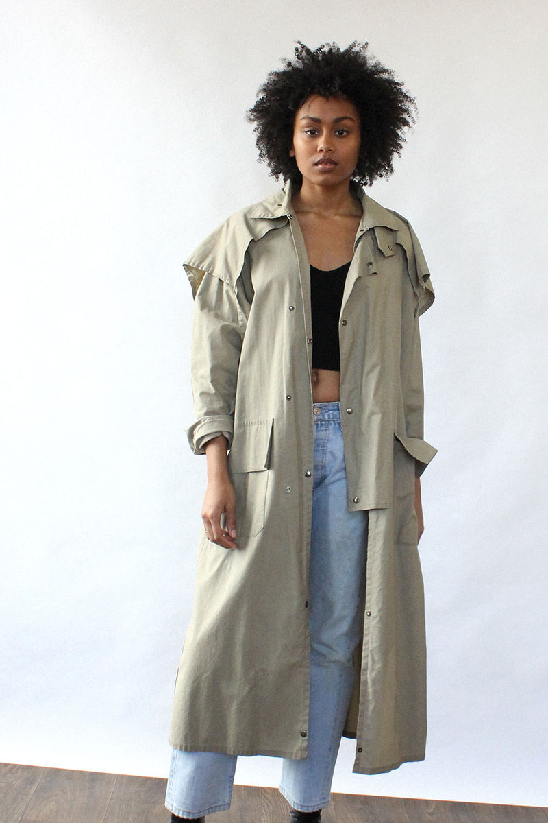 Draped Outback Jacket S/M