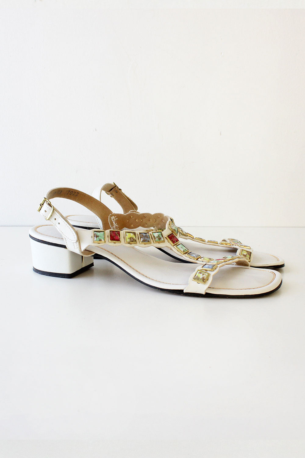 Beacon Bejeweled Sandals 9 1/2