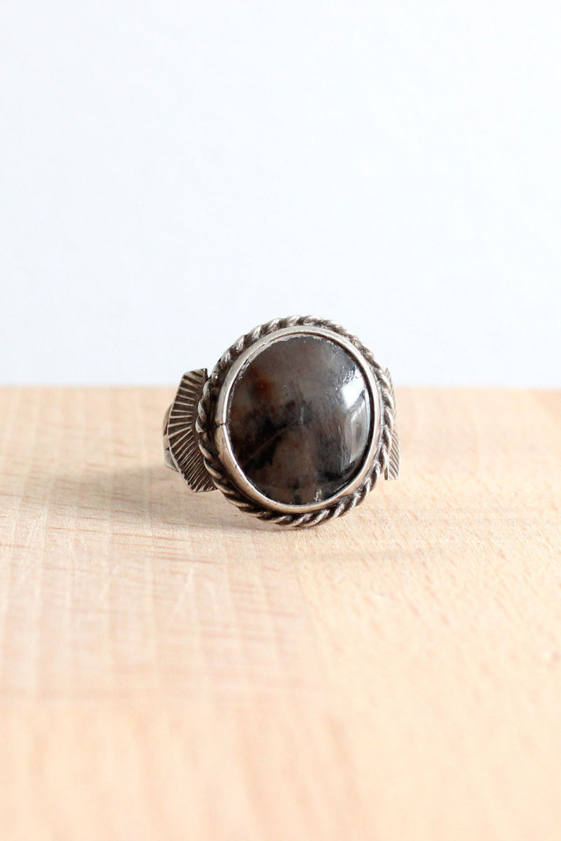 Smoky Winged Ring