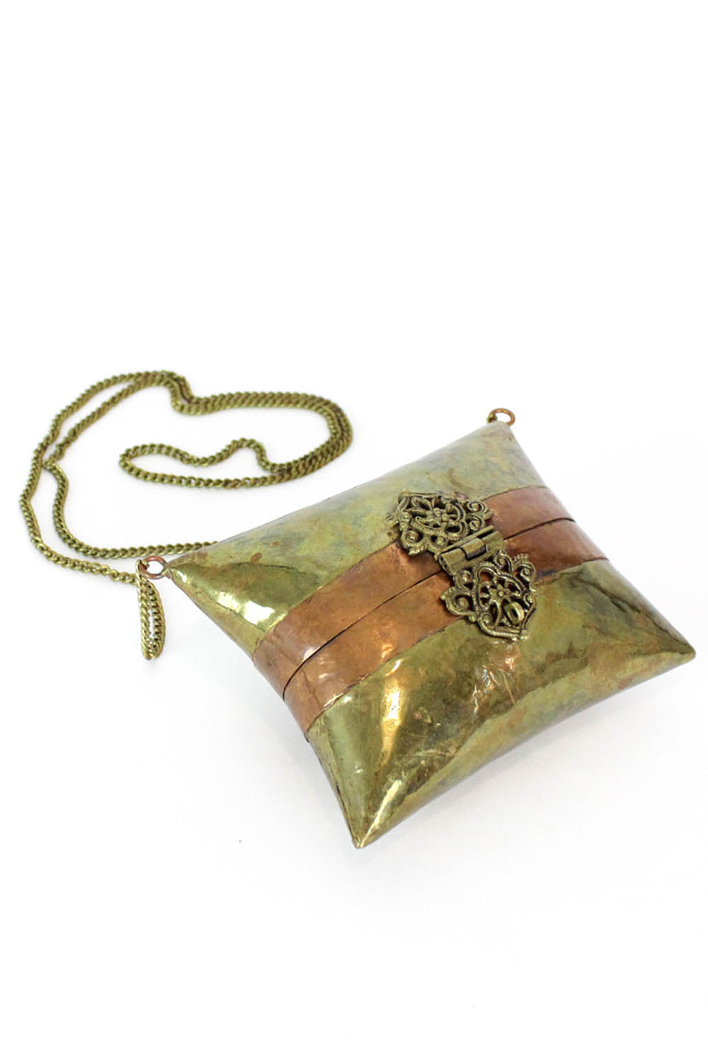Brass Indian Pillow Purse