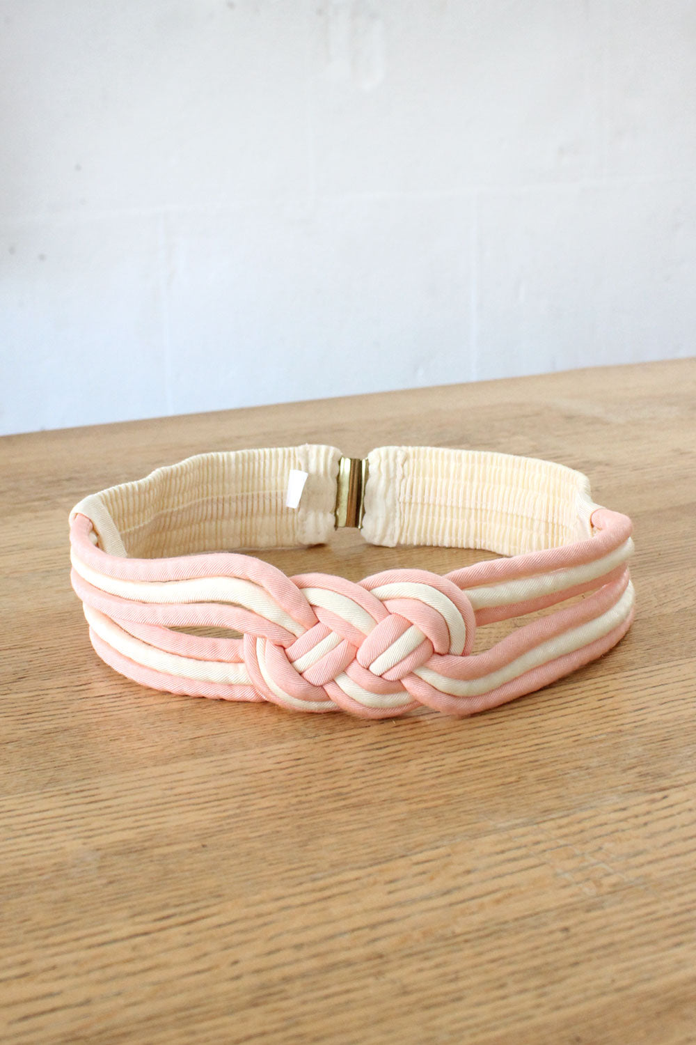 Braided Knot Belt