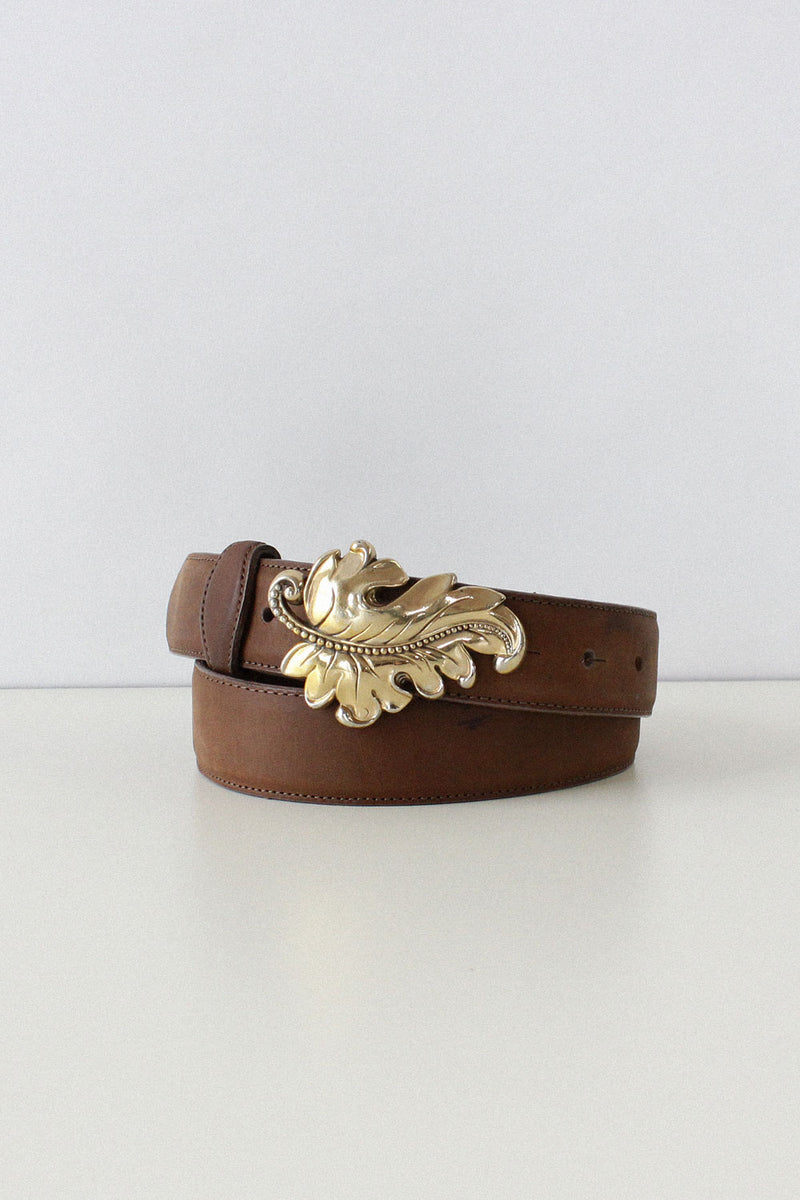 Leaf Buckle Belt