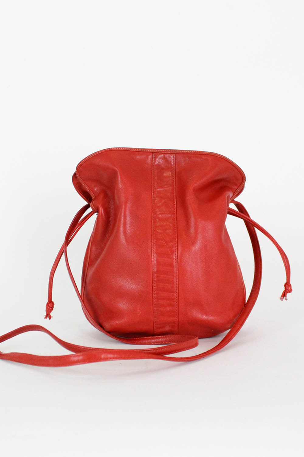 Buttery Leather Mini Bucket Bag