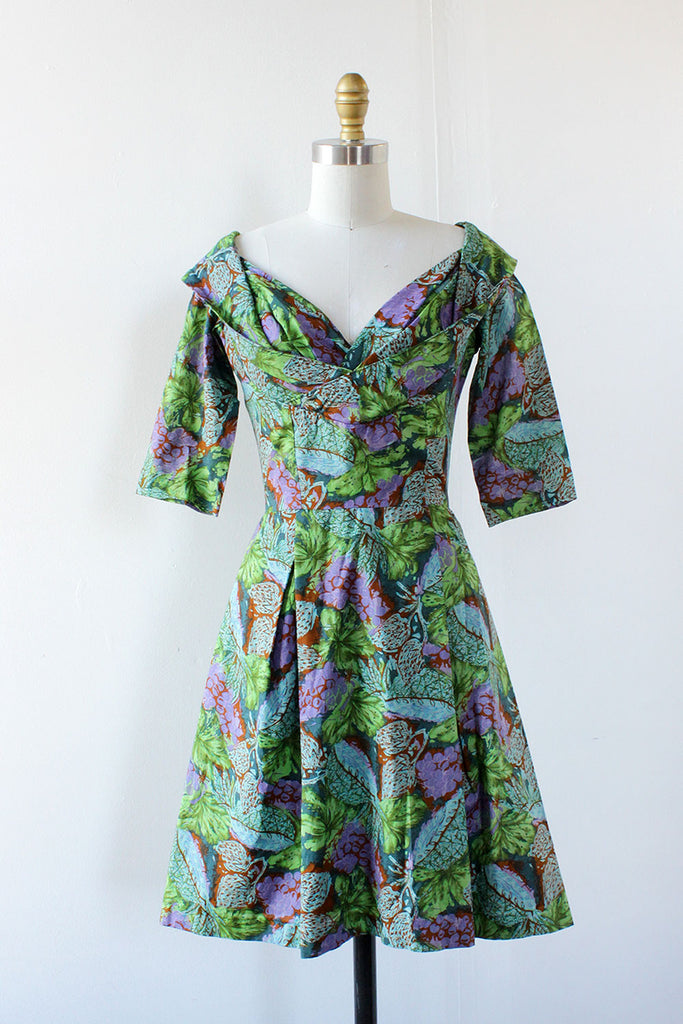 Grape Vine Janet Dress XS