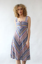 Lavender Stripe Dress M