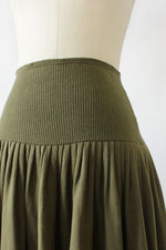 Norma Kamali Tiered Sweat-Skirt S/M