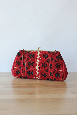 Snake Chain Beaded Purse