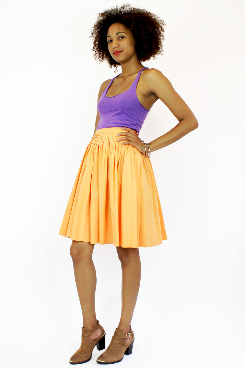 cantaloupe full skirt S