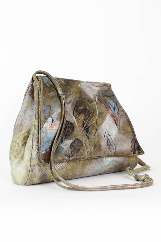 Jane Yoo Painted Leather Bag