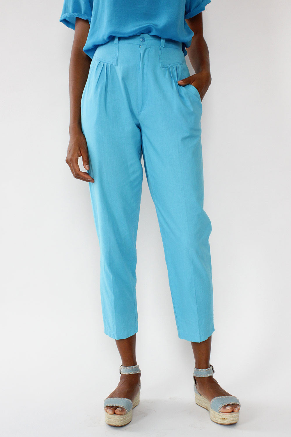 Clear Skies Cotton Slacks S