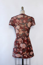 Boysenberry Floral Mini Dress M/L