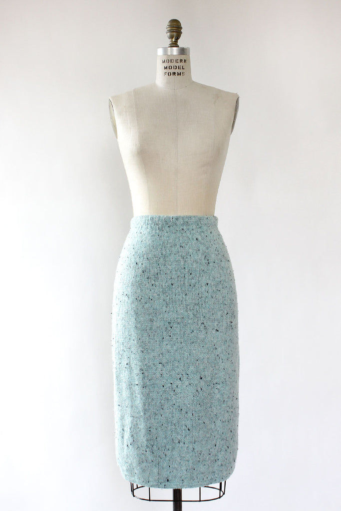 Speckled Robin Knit Skirt M/L