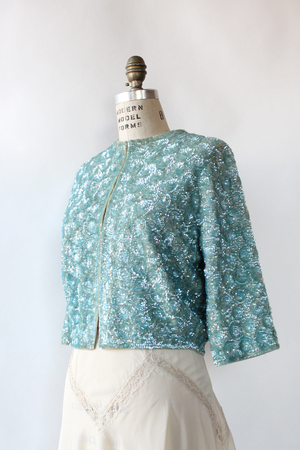 Tiffany Sequin Cardigan S-L