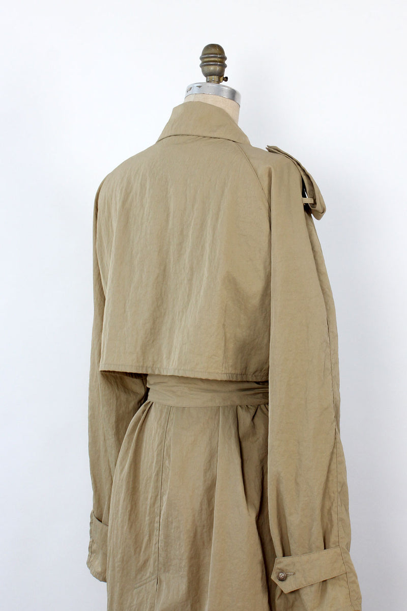 Urban Safari Flowy Trench w/ Bucket Hat M/L