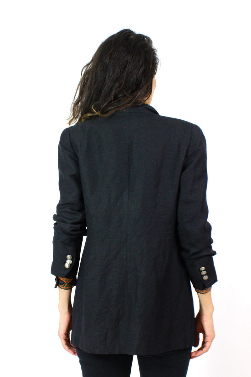 Nautical Black Blazer M