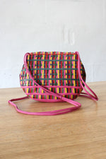 Sharif Woven Leather Delight Purse