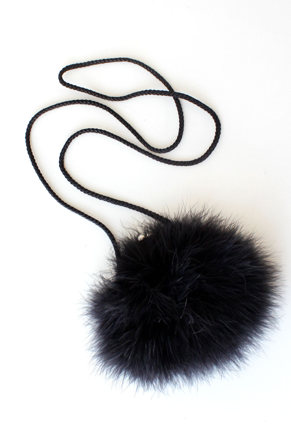 Cher Horowitz Feather Purse