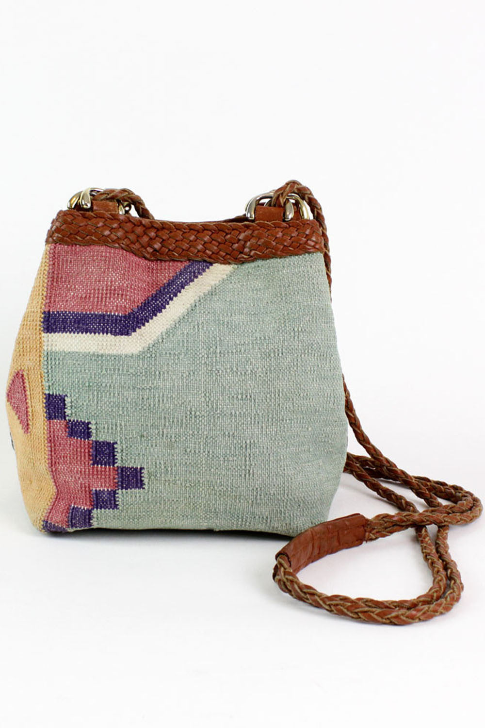 navajo braided bag