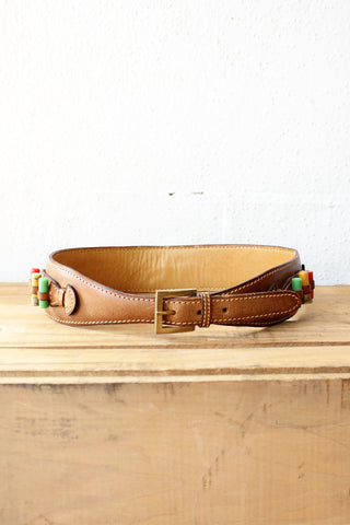 Vintage Gucci 70s Ammo Cinch Belt