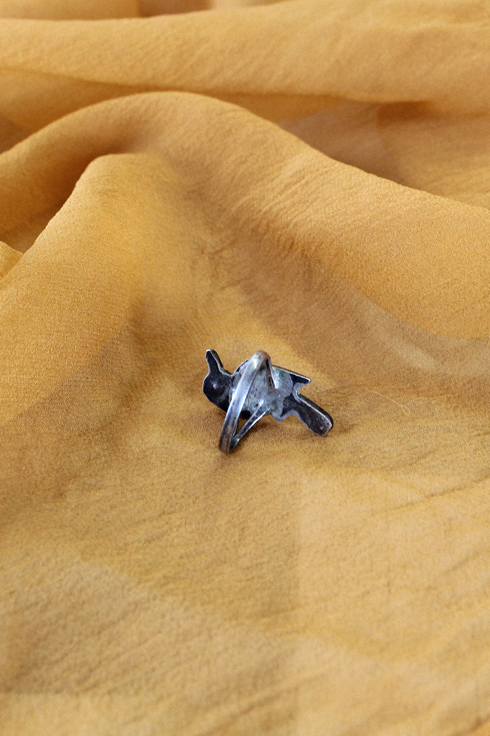 Songbird Silver Ring