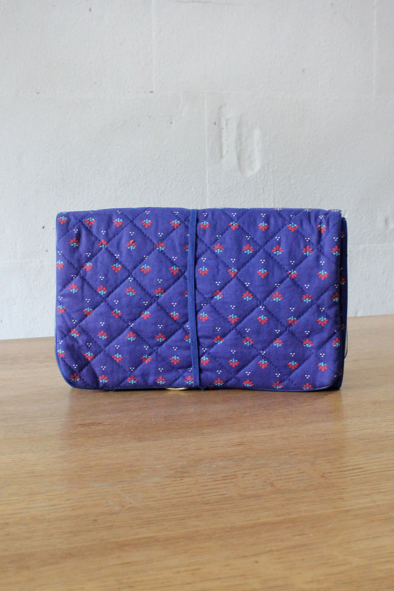 Lillian Calico Travel Pouch