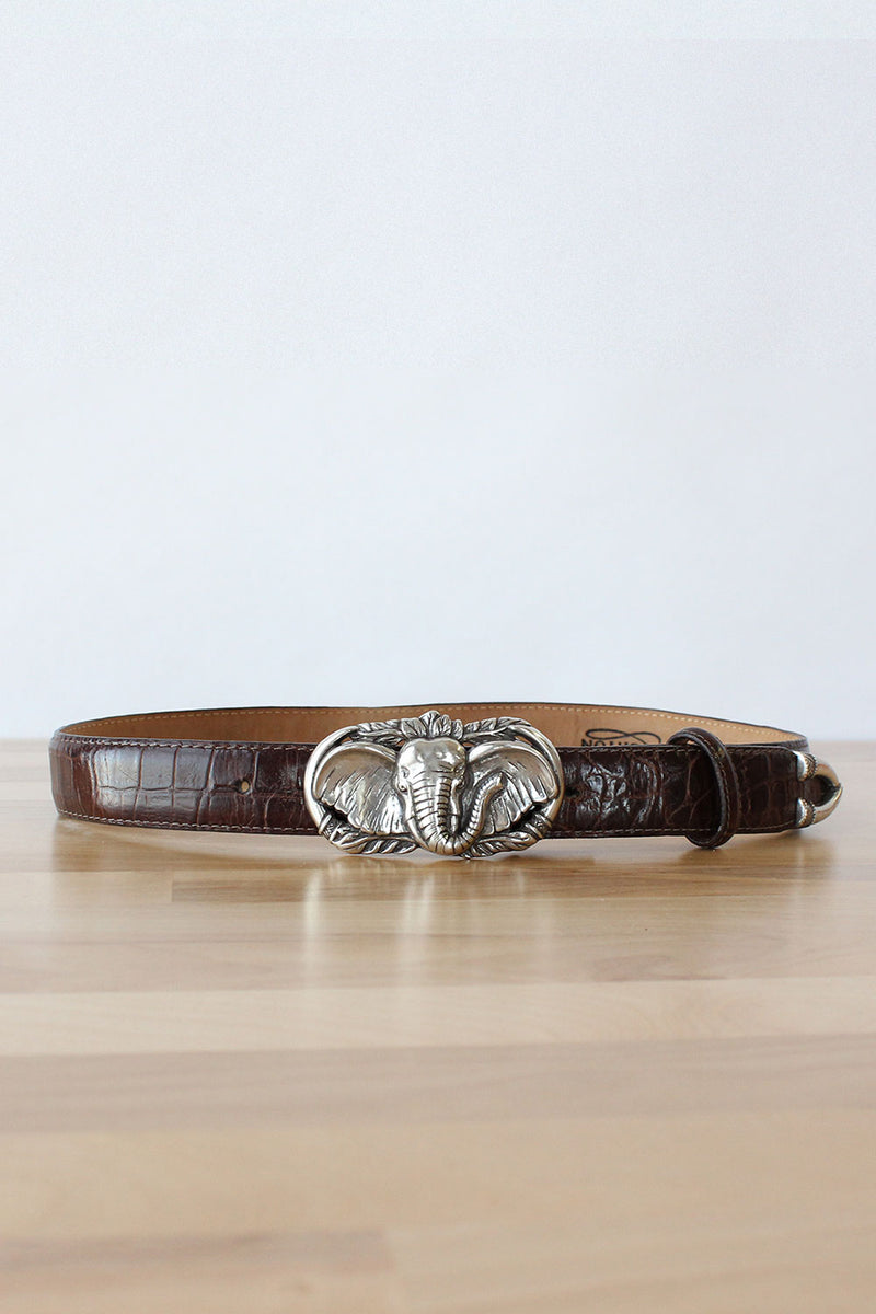 Brighton Tusk Leather Belt