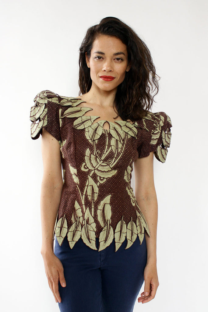 West African Regal Leaf Top