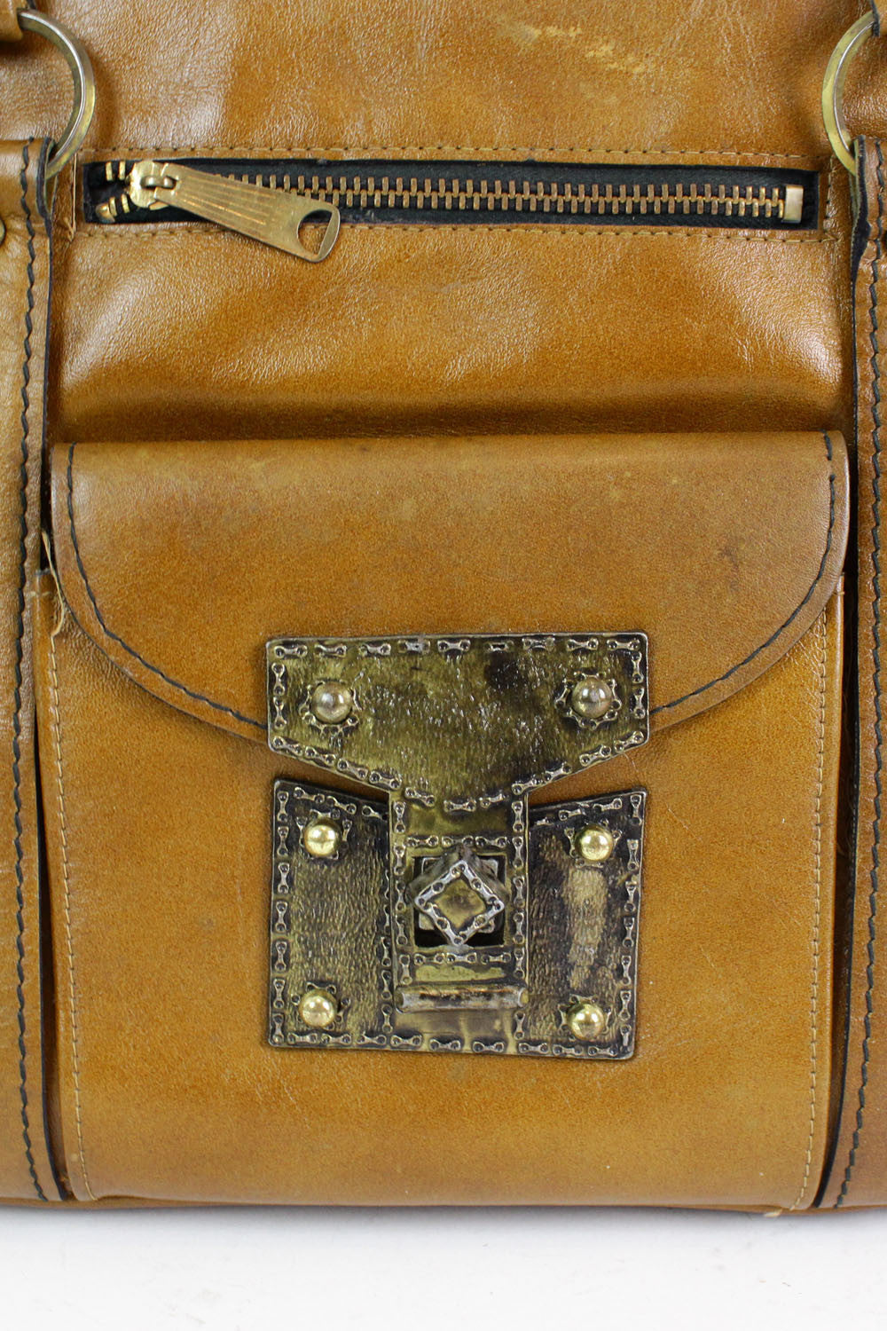medieval locking handbag