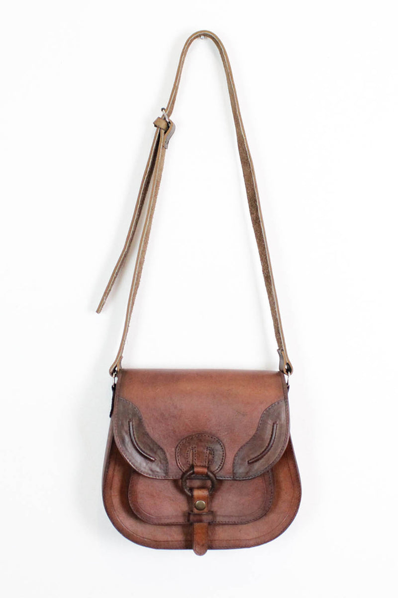 Redwood Crossbody Saddle Bag