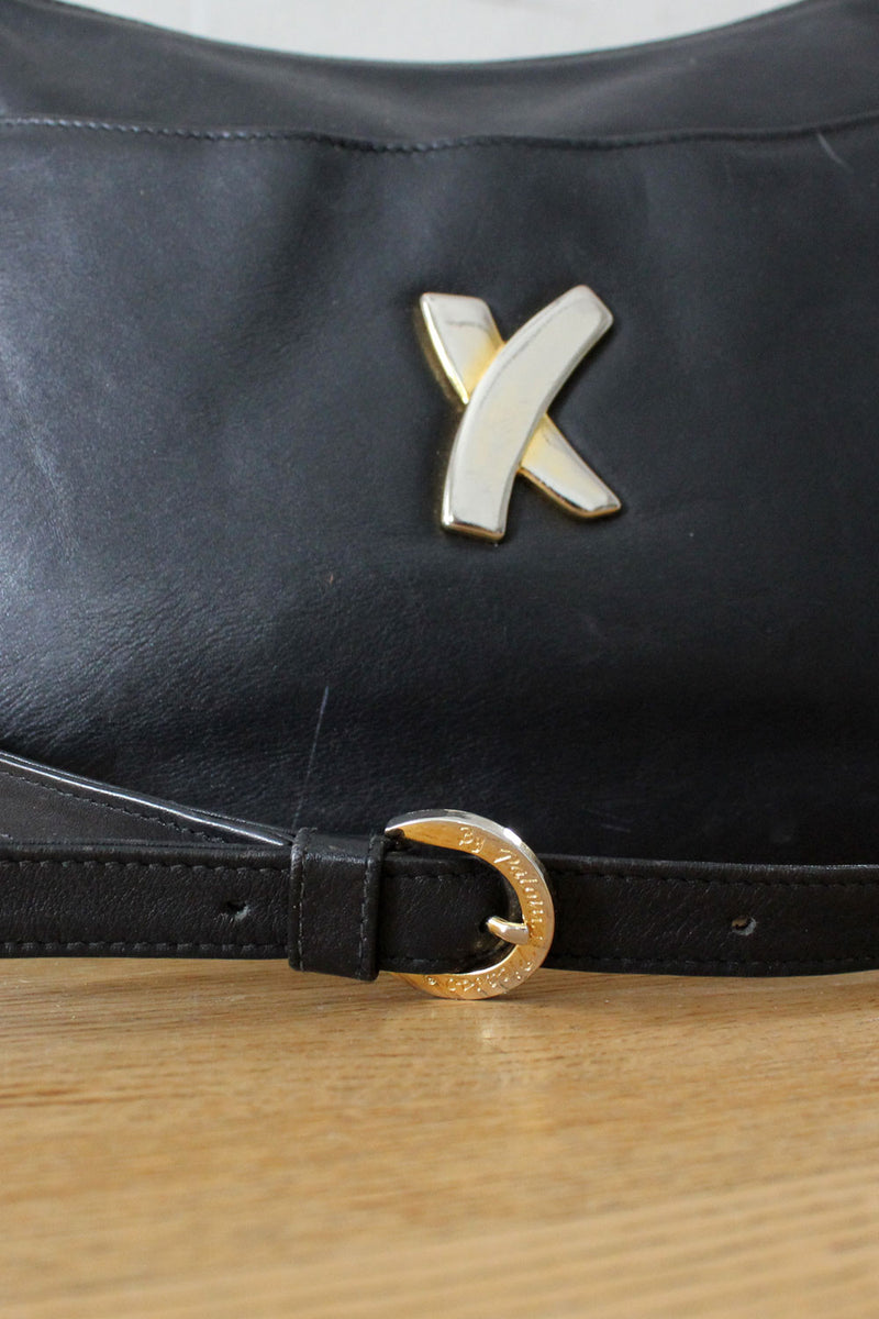 Paloma Picasso Black X Purse