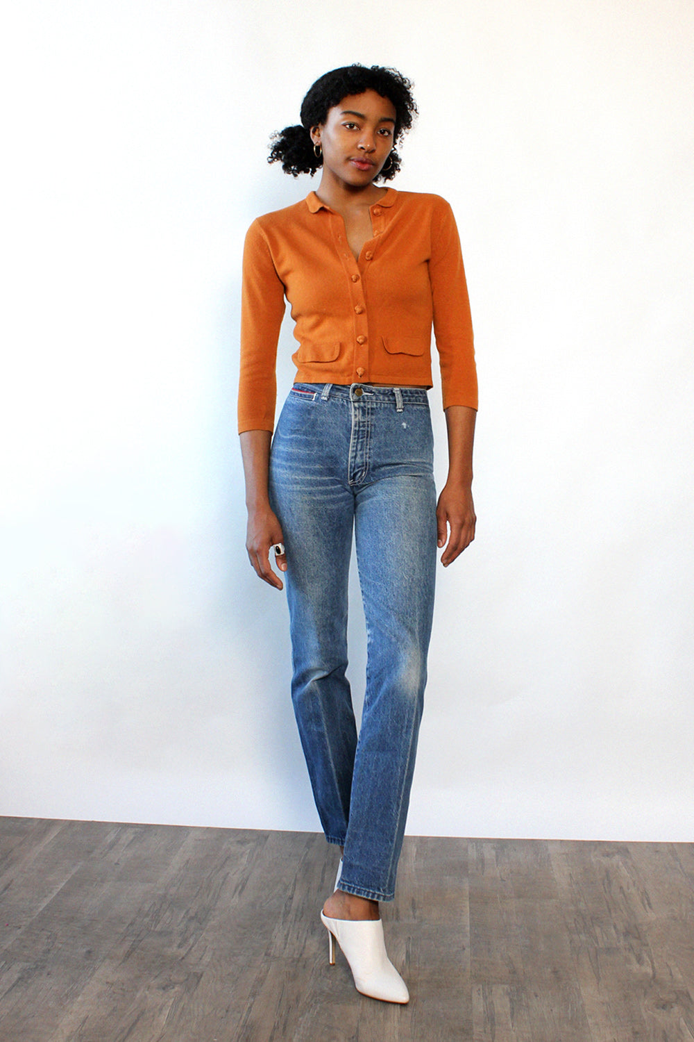 Orange Spice Cardigan XS/S